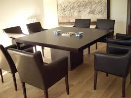 Dining Room Concept Elegant Dining Table Set Dark Brown Square - Incredible dining table dimensions for 8 home