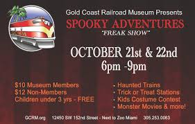 spooky adventures gold coast railroad museum family events