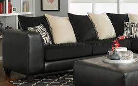 Corduroy Sectional Sofa Sectional Sofa In Black Corduroy Fabric Bi Cast