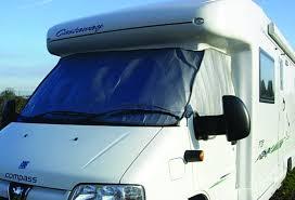 Camper Van Blinds Nova Thermal Exterior Cab Blinds For Vans And Motorhomes