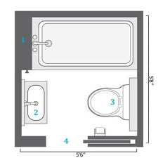 small basement bathroom designs best 25 small bathroom ideas on moroccan tile