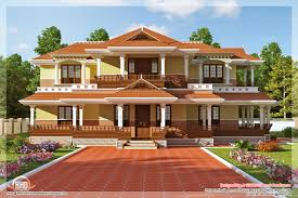 Keral model 5 bedroom luxury home design