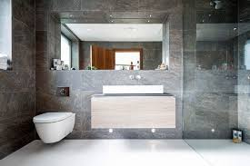 Bathroom Wall Tile Ideas Bathroom Tile Idea Use Large Tiles On The Floor And Walls 18