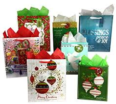 christmas gift bag set of christian religious christmas gift bags and