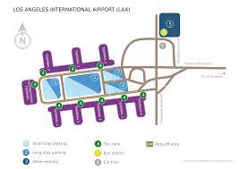 Lax Gate Map Los Angeles International Airport Lufthansa Travel Guide