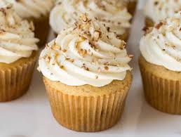 maple frosting maple pecan cupcakes with maple cream cheese frosting spoonful