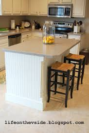 diy kitchen island update tutorial lifeonthevside blogspot com