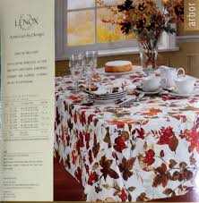 lenox tablecloth arbor hill 60 x 102 fall thanksgiving ebay