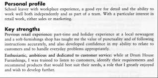 Profile On Resume Examples Personal Profile Resume Samples Professional Profile Resume