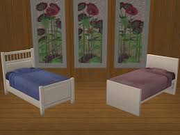 Ikea White Bed Hemnes Mod The Sims 2 Ikea Toddler Beds