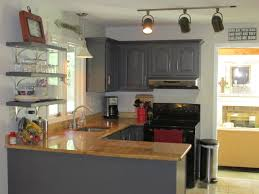 Paint For Kitchen Countertops Remodelaholic Diy Refinished And Painted Cabinet Reviews