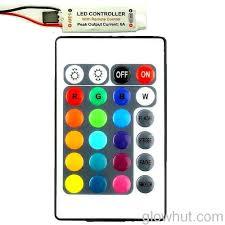 rgb led light strip controller u0026 24 key remote dc 12 v 9 volt