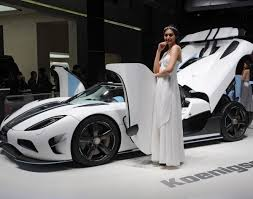 sport cars with girls koenigsegg display in shanghai photos 2014 l a auto show