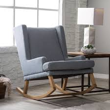 Modern Rocking Chair Nursery U F O Rocking Chair Kashiori Com Wooden Sofa Chair Bookshelves
