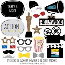 photo props party photo booth props kit 20 count ebay