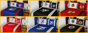 Hockey Bedding Set Nhl Hockey Team Bedding P 538812 1282022 Nhl Bed Sheets Elefamily Co
