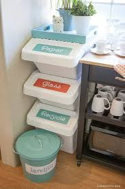 Bathroom Storage Ideas For Small Spaces by Best 25 Recycling Storage Ideas Only On Pinterest Patio Storage