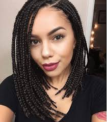 hairstyles for block braids 30 short box braids hairstyles for chic protective looks