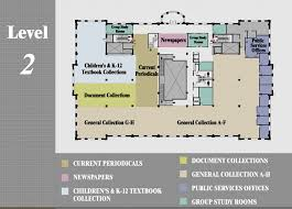 tcnj map level 2 library