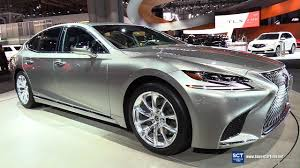 lexus ls400 interior 2018 lexus ls 500h awd exterior and interior walkaround 2017
