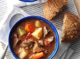 classic beef stew recipe taste of home