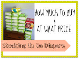 up on diapers how much to buy at what price