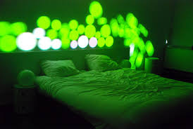 Light Show For Bedroom Cool Concept Awesome Interactive Light Show For Your Room 5 Pics
