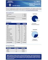 Total Compensation Statement Template by Insurance Software Solution Insurance Software Development Ebix