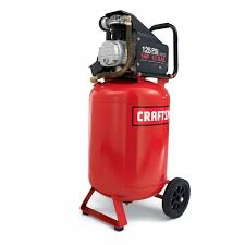 craftsman 12 gallon portable vertical air compressor with hose and