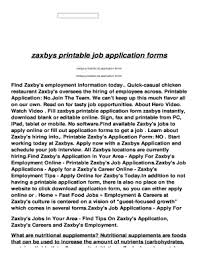 printable job application form to download editable fillable