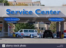 dealership virginia honda dealership service center entrance virginia usa stock