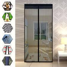 Magnetic Curtains For Doors Magic Mesh Building U0026 Hardware Ebay