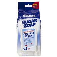 Cleaning Painted Walls by New Selleys Sugar Soap Wall And Surface Cleaning Wipes 25 Pack