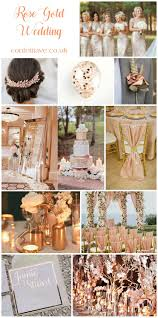 a rose gold wedding mood board http confettiave co uk rose