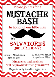 little man birthday invitations mustache bash birthday invitations