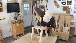 Woodworking Stool Plans For Free by Sturdy Utility Step Stool Made From One 2x4 Woodworking For