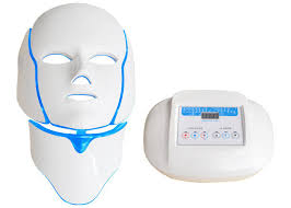 at home light therapy for acne hands free led mask 120 mw cm2 anti acne light therapy