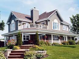 House Plans With Big Porches Country Home Designs With Wrap Around Porch Best Home Design
