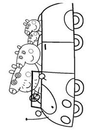 peppa pig george pig toys coloring book pages video