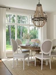 dining room window treatment 17 best ideas about dining room