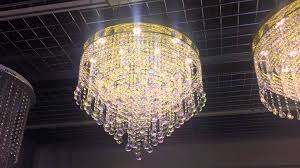 Crystal Sphere Chandelier 60cm Led Crystal Balls Flush Gold Chandelier By First Class