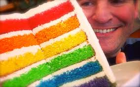 rainbow cake hervé cuisine rainbow cake great results easy to follow