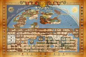 Bravely Default World Map by Video Game Wallpapers Fan Art U0026 Hi Res Artwork Thread Of Eternal