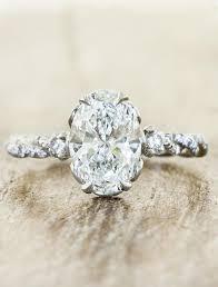 design rings images Shanel rose gold oval diamond twisted band ring ken dana design jpg