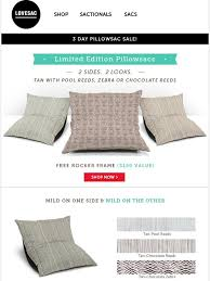 Lovesac Sale Lovesac 3 Day Pillowsac Sale Starts Now Milled