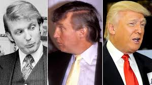 what would i look like with different hair an illustrated history of donald trump s hair warning don t read