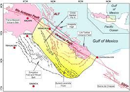 Map Of Veracruz Mexico by The Neogene Veracruz Fault Evidences For Left Lateral Slip Along