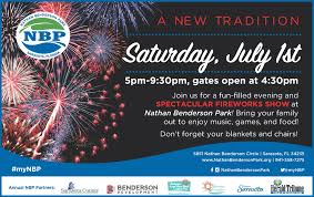 nathan benderson park fireworks festival parking information the
