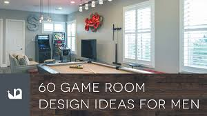 60 game room design ideas for men youtube