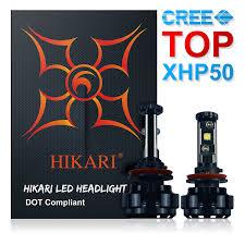 lexus sc300 bulb size amazon com hikari led headlight bulbs conversion kit h11 h8 h9
